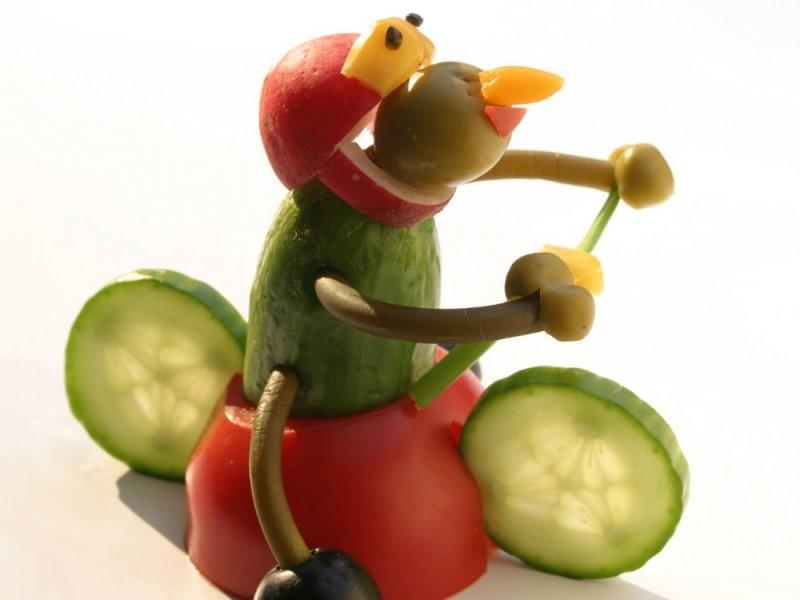 Картинки из овощей своими руками